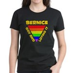 Bernice Gay Pride (#009) Women's Dark T-Shirt