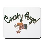Country Angel Mousepad