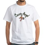 Country Angel White T-Shirt