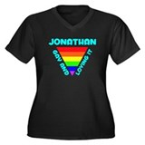 Jonathan Gay Pride (#008) Women's Plus Size V-Neck