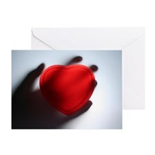 """Heart in Hand"" AntiValentines Card"