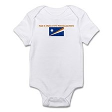 MADE IN AMERICA WITH MARSHALL Infant Bodysuit