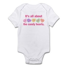 Candy Hearts II Onesie
