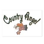 Country Angel Postcards (Package of 8)
