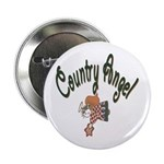 Country Angel Button