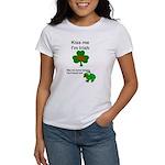 KISS ME IM IRISH AND FRENCH Women's T-Shirt