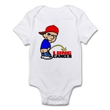 Piss On Lung Cancer Infant Bodysuit