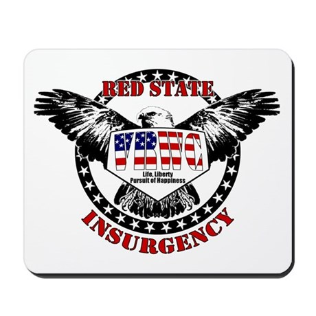 VRWC Red State Mousepad