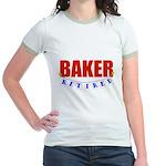 Retired Baker Jr. Ringer T-Shirt
