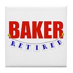 Retired Baker Tile Coaster