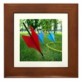 Jarts & Lawn Darts Framed Tile