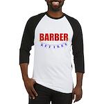 Retired Barber Baseball Jersey