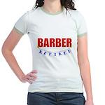 Retired Barber Jr. Ringer T-Shirt