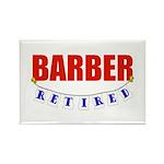 Retired Barber Rectangle Magnet (10 pack)