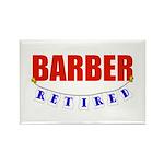 Retired Barber Rectangle Magnet (100 pack)