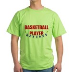 Retired Basketball Player Green T-Shirt