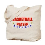 Retired Basketball Player Tote Bag