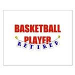 Retired Basketball Player Small Poster
