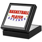 Retired Basketball Player Keepsake Box