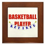 Retired Basketball Player Framed Tile