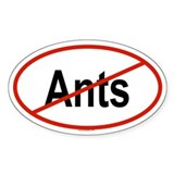 ANTS Oval Decal