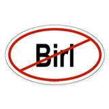 BIRL Oval Decal