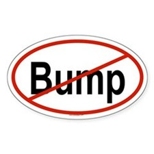 BUMP Oval Decal