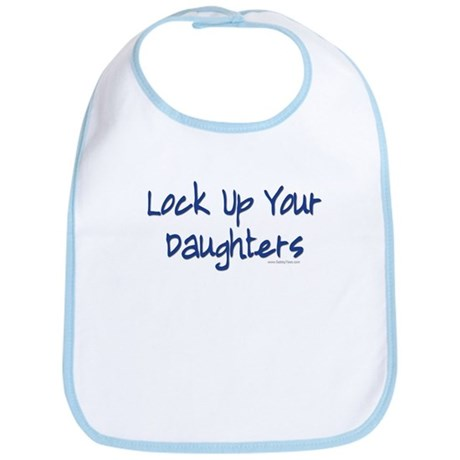 """Lock Up Your Daughters"" Bib"
