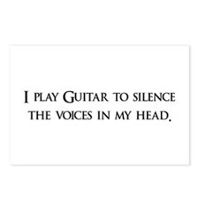 I Play Guitar To Silence The Postcards (Package o