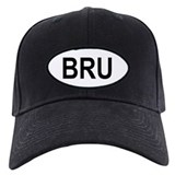 Brunei Oval Baseball Hat