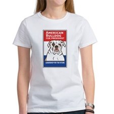 American Bulldog for President Tee