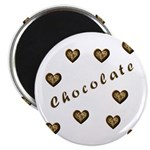"Chocolate Cookie Gift 2.25"" Magnet (100 pack)"
