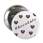 "Chocolate Cookie Gift 2.25"" Button (100 pack)"
