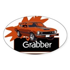 Grabber Maverick Oval Sticker