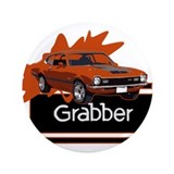 "Grabber Maverick 3.5"" Button"