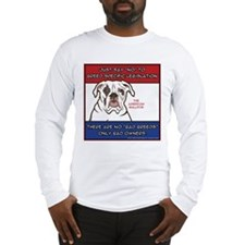 Anti-BSL American Bulldog Long Sleeve T-Shirt