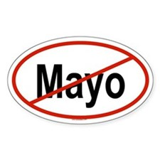 MAYO Oval Decal