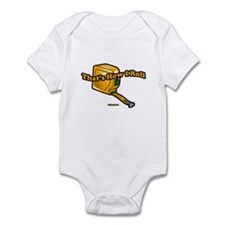 That's How I Roll (tape measu Infant Bodysuit