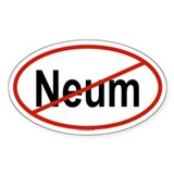NEUM Oval Decal