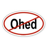 OHED Oval Decal