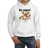 Go Vegan! Cheer Jumper Hoody