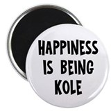 Happiness is being Kole Magnet
