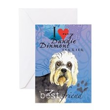 Dandie Dinmont Greeting Card