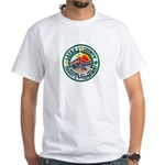 La Paz Sheriff White T-Shirt