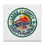 La Paz Sheriff Tile Coaster