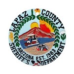 La Paz Sheriff Ornament (Round)