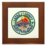 La Paz Sheriff Framed Tile