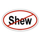 SHEW Oval Decal