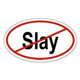 SLAY Oval Decal