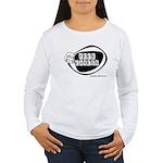 Girlie Fuck Cancer Women's Long Sleeve T-Shirt